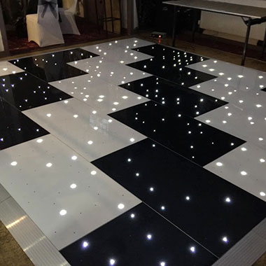 LED Dance Floors hired for a Birthday, Wedding or Event