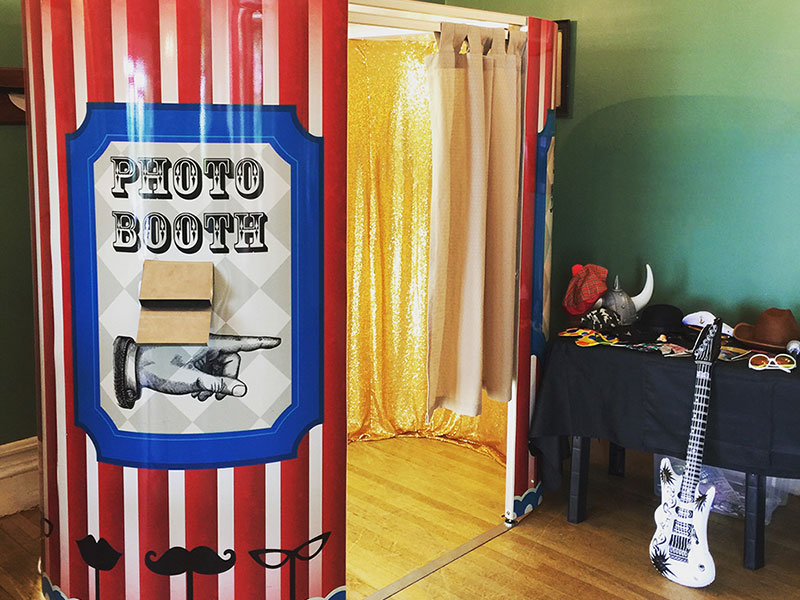 Kids Events are perfect for a Party Photo Booth