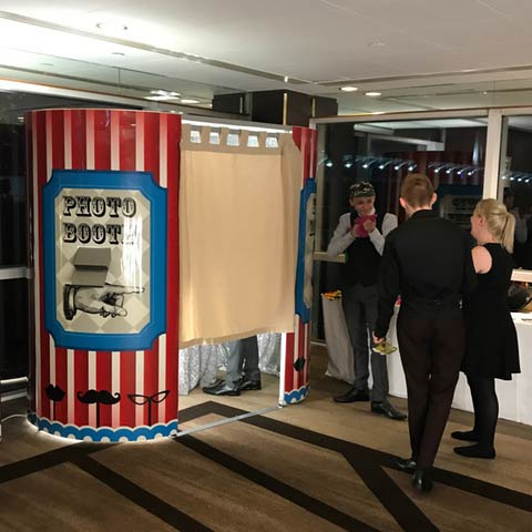 Photo Booths hired for High School Prom in Glasgow