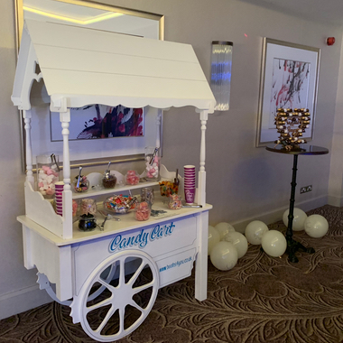 Candy Cart hired for a Wedding at Dalmahoy