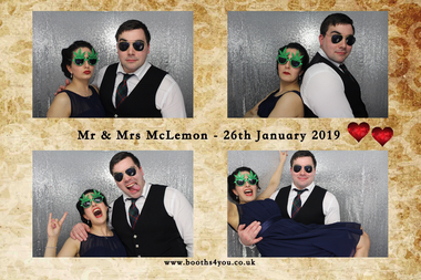 Photo Booth Hire Template for an Enclosed Photo Booth