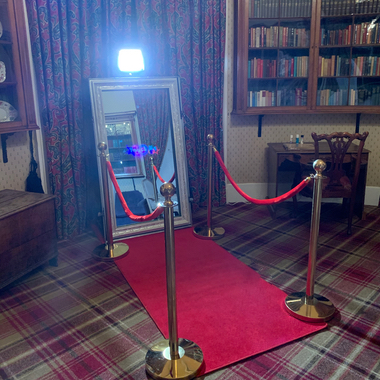 Photo Booth Hire Glasgow with one of our amazing Magic Mirror Booths