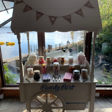 Candy Cart in Loch Lomond