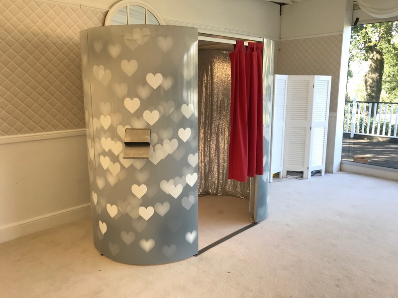 Oval Photo Booth perfect for any Party or Event