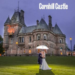 Blog about Scottish Wedding Venues with Cornhill Castle as one of the main ones discussed