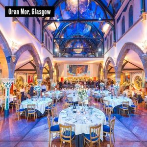 The spectacular Oran Mor in Glasgow, perfect destination for a Wedding or Event