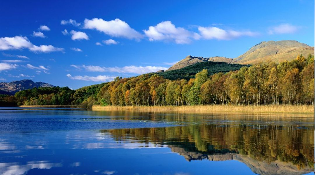 Beautiful scenery from Loch Lomond, a perfect place to hold a wedding
