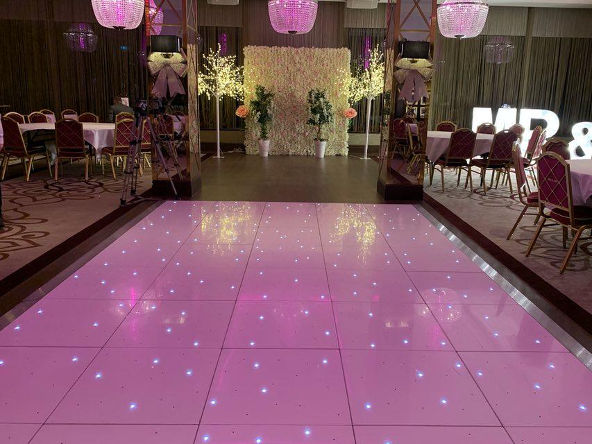 Ayrshire LED Dance Floor Hire