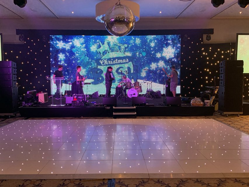 Glasgow LED Dance Floor Hire