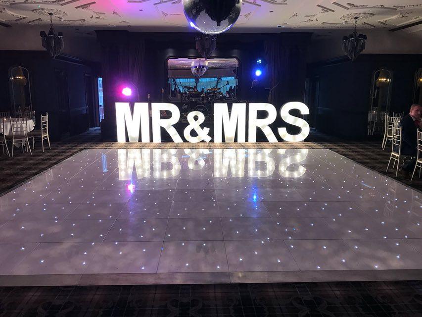 Loch Lomond LED Dance Floor Hire