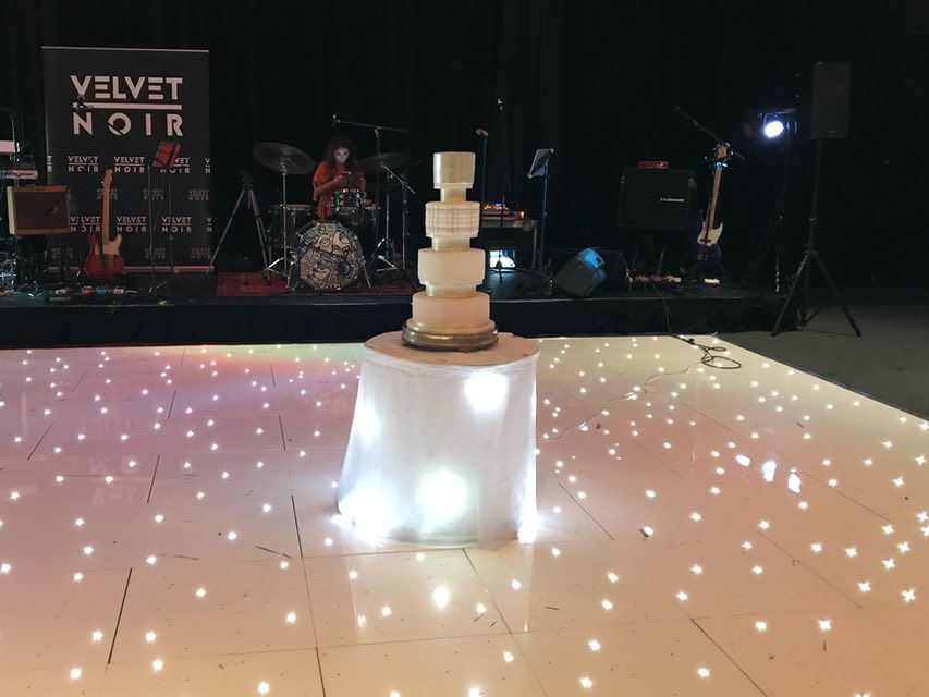 North Lanarkshire LED Dance Floor Hire