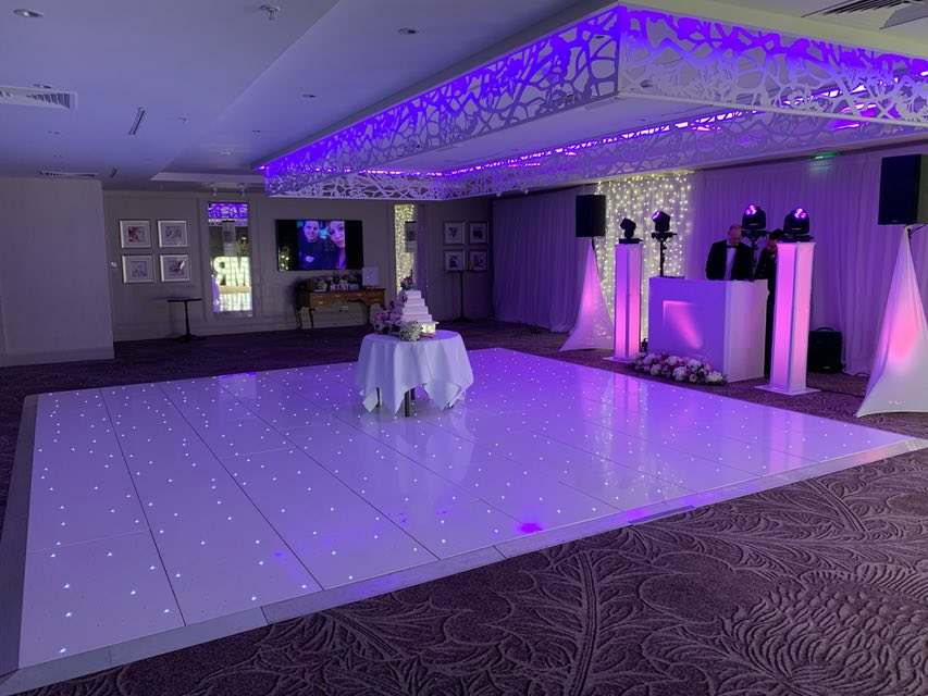 Renfrewshire LED Dance Floor Hire