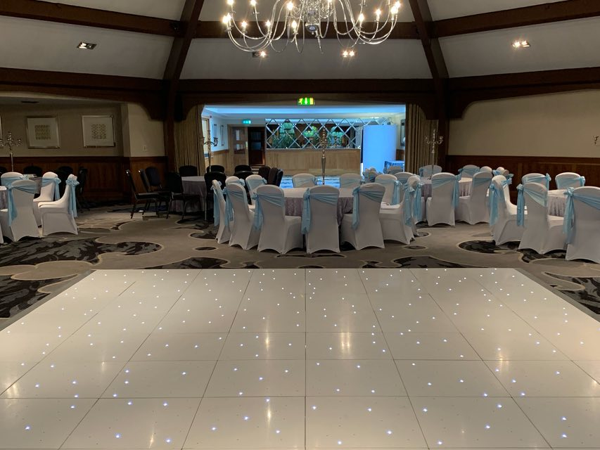 Stirling LED Dance Floor Hire