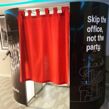 Branded Corporate Photo Booth