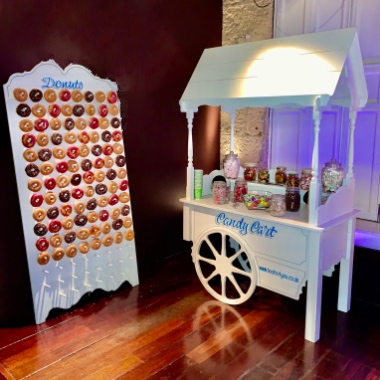 Candy Cart and Donut Wall