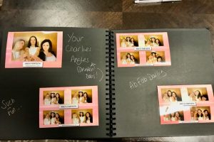 Photo Booth Guest Book is different from a traditional White Wedding Guest Book