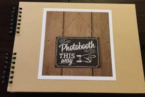 Guest Book for Photo Booth or Magic Mirror