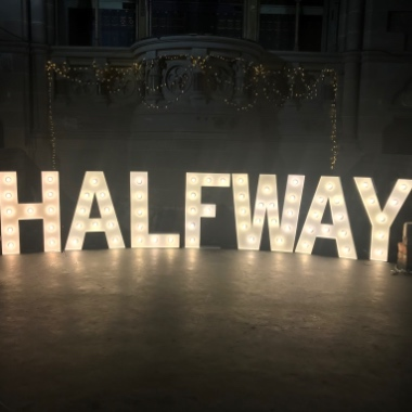 4ft Giant Light Up Letters perfect for any event