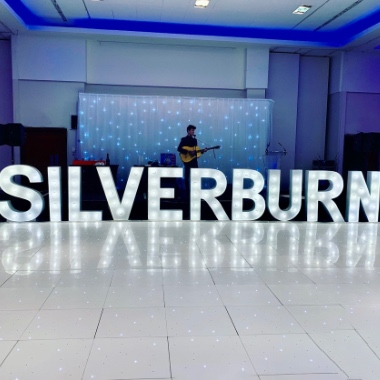 4ft Giant Light Up Letters perfect for any Corporate Event