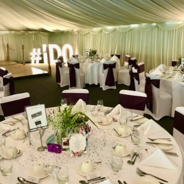 Beautiful Venue Decoration options available for hire